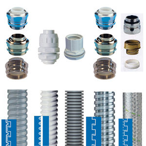 FLEXIBLE CONDUITS AND ACCESORIES