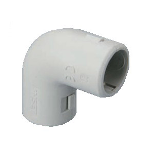 PVC 90º ELBOW CONNECTOR (INSPECTIONABLE)