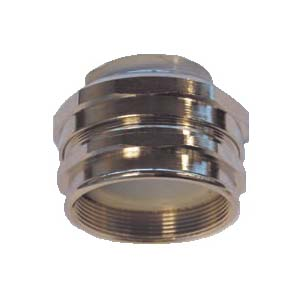 """TUBODIX"" ""FEMALE METRIC-LT"" CONNECTOR WITH PVC BUSHING"