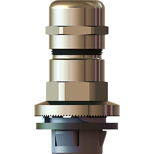 """QUICK ASSEMBLY """"GADI-QUICK"""" EMC BRASS NICKEL CABLE GLANDS"""