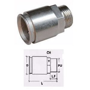 """METRIC"" CONNECTOR IP67"