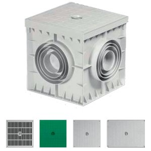 MANHOLE BOXES (POLYPROPYLENE) 200x200x200 (mm)