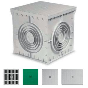 MANHOLE BOXES (POLYPROPYLENE) 550x550x500 (mm)