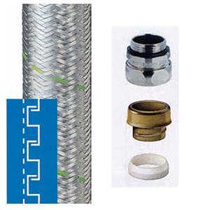 "STEEL CONDUIT ""METALFLEX + WIRE"" AND ACCESORIES"