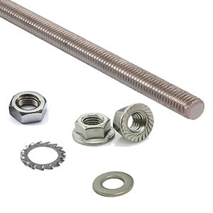 THREADED RODS, NUTS AND WASHERS