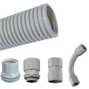 "CORRUGATED CONDUIT ""HALOFLEX"" AND ACCESORIES"