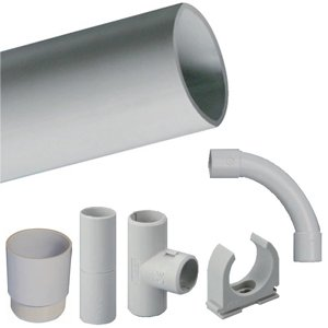 "PVC CONDUIT ""TPV"" AND ACCESORIES"