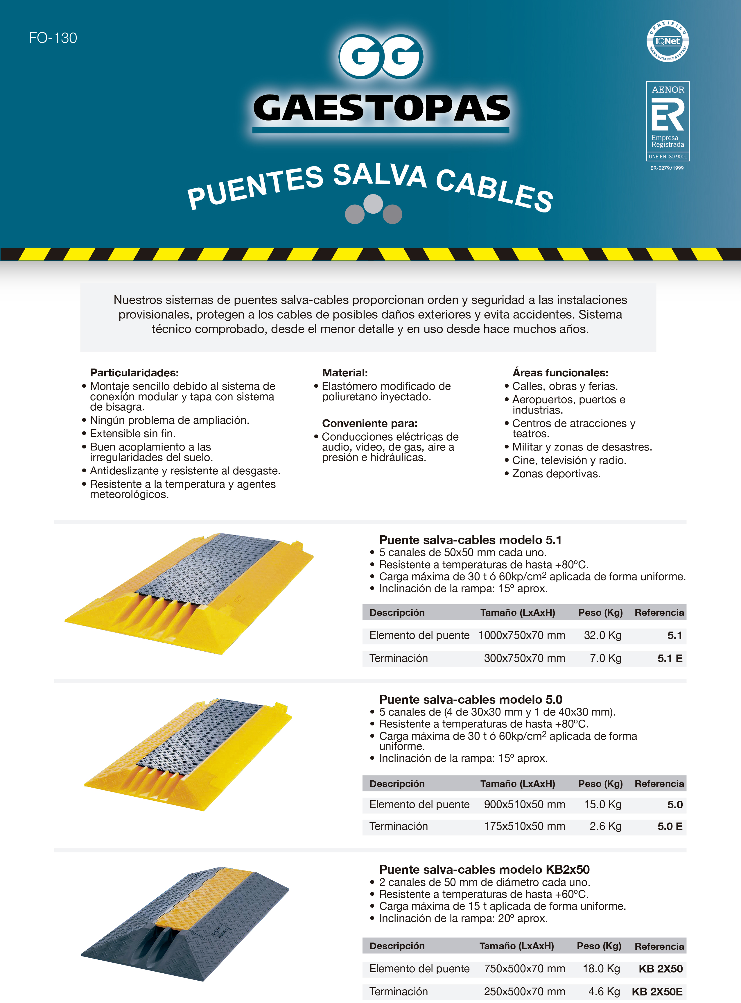 Cable Bridge systems Brochure