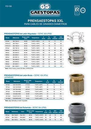 XXL CABLE GLANDS BROCHURE