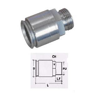 STAINLESS STEEL CONNECTOR IP67