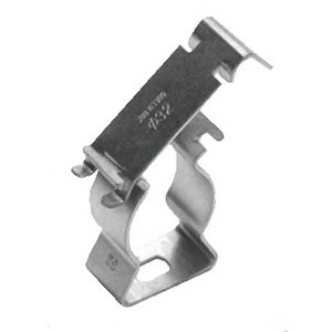 STAINLESS STEEL PRESS-ON SUPPORT CLAMP