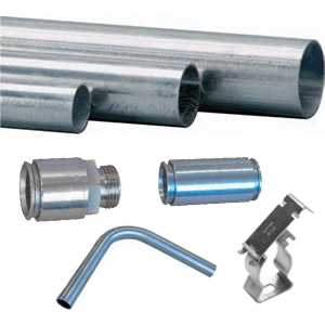 "NON THREADABLE STAINLESS STEEL CONDUIT ""TAE-INOX"" AND ACCESORIES"