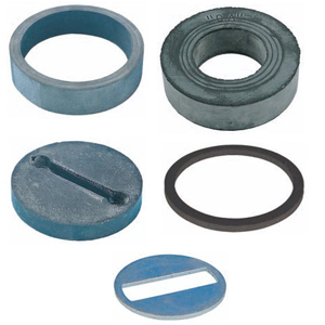 RUBBER SEALING RINGS AND WASHERS